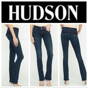 Hudson Signature Midrise Bootcut Sz 28 - Bair